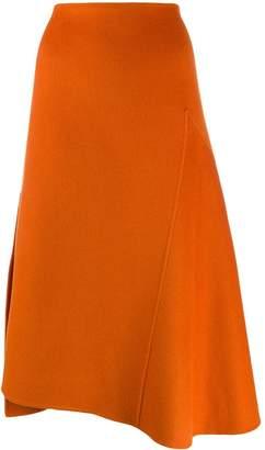 Odeeh A-line midi skirt