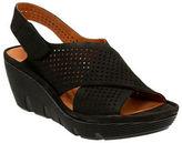 Clarks Clarene Award Slingback Platform Wedge Sandals
