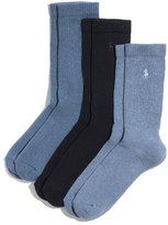 Polo Ralph Lauren Men's Cushioned Crew Socks