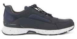 HUGO BOSS Chunky Sneakers With Hybrid Uppers - Dark Blue