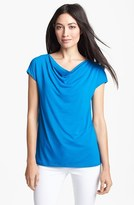 Eileen Fisher Drape Neck Top