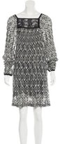 Missoni Long Sleeve Knit Dress