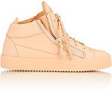 Giuseppe Zanotti Women's Leather Double-Zip Sneakers