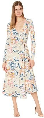 Rachel Pally Jersey Mid-Length Harlow Dress (Folk Flower) Women's Dress