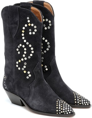 Isabel Marant Duerto suede ankle boots