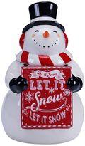 Certified International Geoffrey Allen Christmas 11.25-in. Snowman Cookie Jar