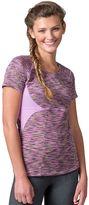 Soybu Women's Evelyn Space-Dye Scoopneck Yoga Tee