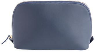 Royce New York Leather Cosmetic Bag