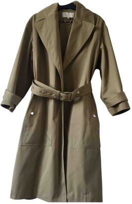 Vanessa Bruno Khaki Cotton Trench Coat for Women