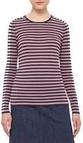 Akris Punto Women's Bicolor Stripe Wool Sweater