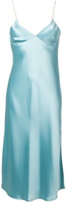 Ssheena flared midi dress