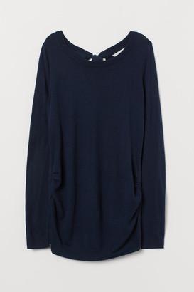 H&M MAMA Knit Sweater - Blue