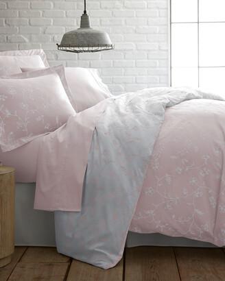South Shore Furniture Southshore Linens Soft Shabby Chic Floral Cotton Sateen Duvet Set