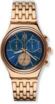 Swatch Men's Blue Win YCG409G Stainless Steel Wrist Watches