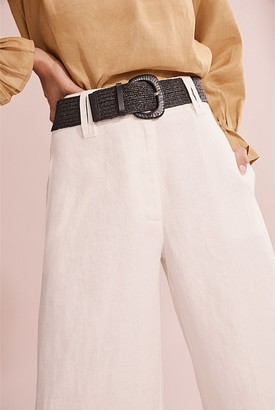 Country Road Elastic Woven Belt