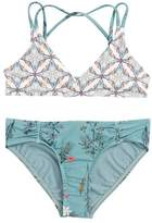 O'Neill Piper Print Two-Piece Reversible Swimsuit