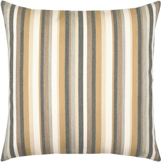Elaine Smith Moda Stripe Dune Indoor/Outdoor Accent Pillow