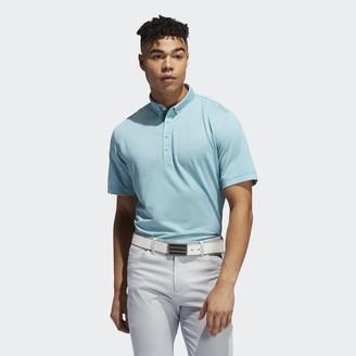 adidas Adipure Double-Dyed Ottoman Polo Shirt