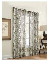 "Couture Amelia Grommet Top Curtain Panel - Silver (50x95"")"
