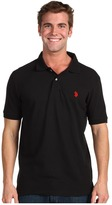 U.S. Polo Assn. Solid Cotton Pique Polo with Small Pony