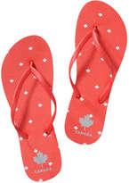 Joe Fresh Women's Canada Flip Flops, Print 9 (Size 8)