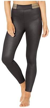 Koral Dignify Groove High-Rise Leggings (Black) Women's Casual Pants