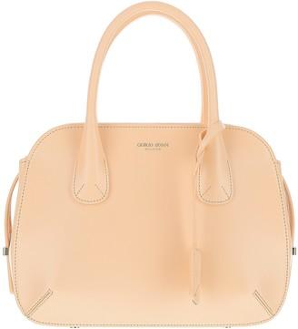 Giorgio Armani Light Pink Leather Satchel bag