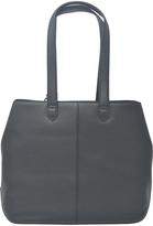 DKNY Black Nappa Leather Tote