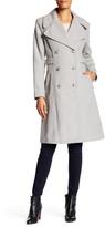 Jessica Simpson Long Sleeve Notch Collar Coat