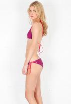 Singer22 Basta Surf Kikitas Reversible Double String Bikini in Sailing/Eggplant