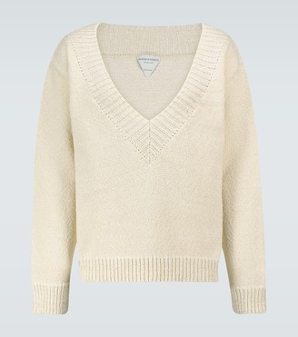 Bottega Veneta Chunky knitted V-neck sweater
