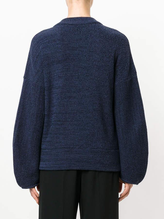 Aviu crystal detail oversized jumper