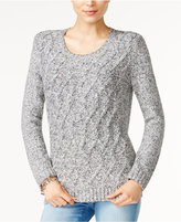 Tommy Hilfiger Lillian Cable-Knit Sweater, Only at Macy's