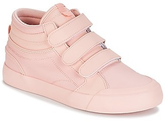 DC EVAN HI V SE J SHOE ROW women's Shoes (High-top Trainers) in Pink