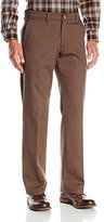 Lee Men's Comfort Waist Custom Straight Fit Flat Front Pant