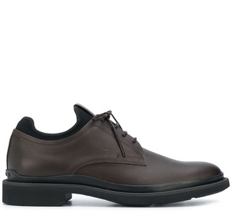 Tod's two-tone Oxford shoes
