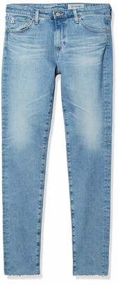 AG Jeans Women's Denim Legging Raw Hem