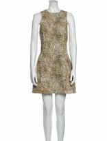 Thumbnail for your product : Alexander Wang Animal Print Mini Dress w/ Tags