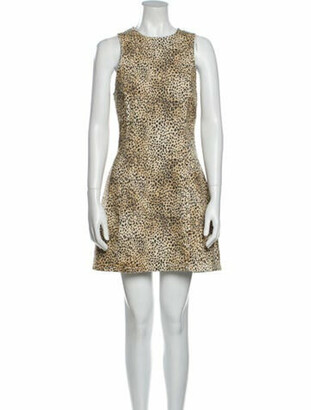 Alexander Wang Animal Print Mini Dress w/ Tags