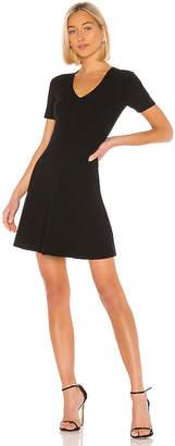 Theory Knit Flare Dress
