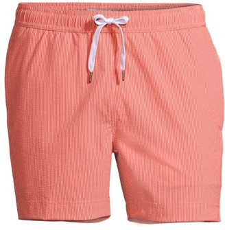 Onia Charles Striped Slim-Fit Swim Trunks