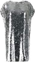 MSGM sleeveless shift mini dress
