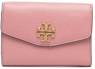 Tory Burch Kira Pebbled Medium Flap wallet