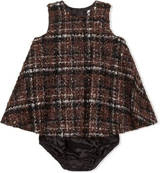 Dolce & Gabbana Kids Check-Print Dress