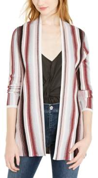 INC International Concepts Inc Petite Striped Open-Front Cardigan, Created for Macy's