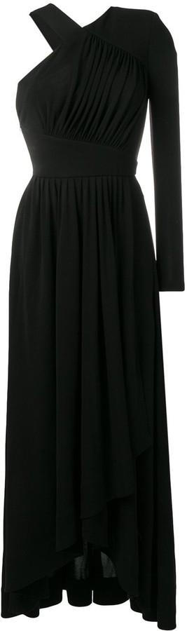 Givenchy asymmetric maxi gown