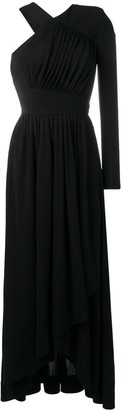 Givenchy Asymmetric Maxi Gown