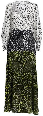 Hayley Menzies Wings Printed Panel Dress