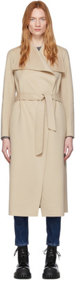 Mackage Beige Wool Mai Coat