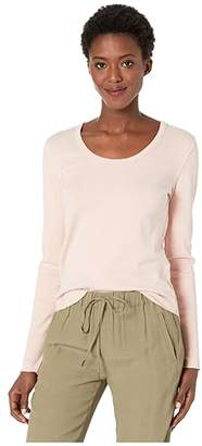 Lilla P Back Seam Scoop Neck (Petal) Women's T Shirt